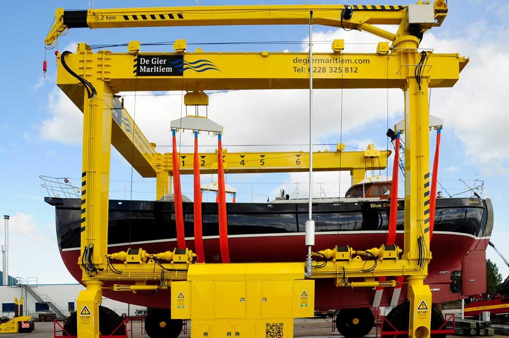 Botenlift 100 ton